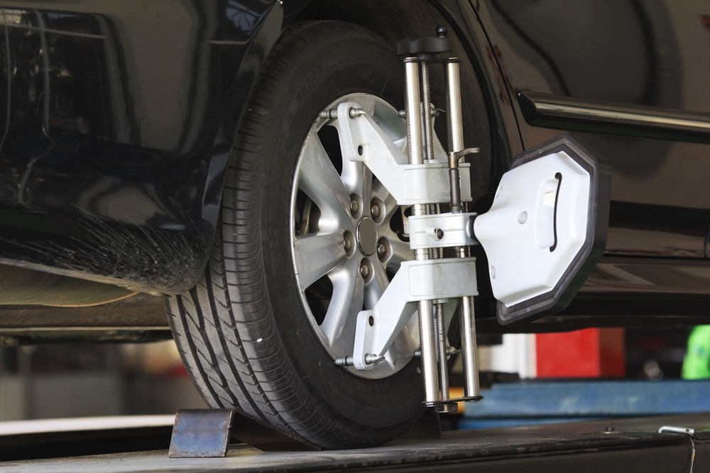 Alignement des pneus